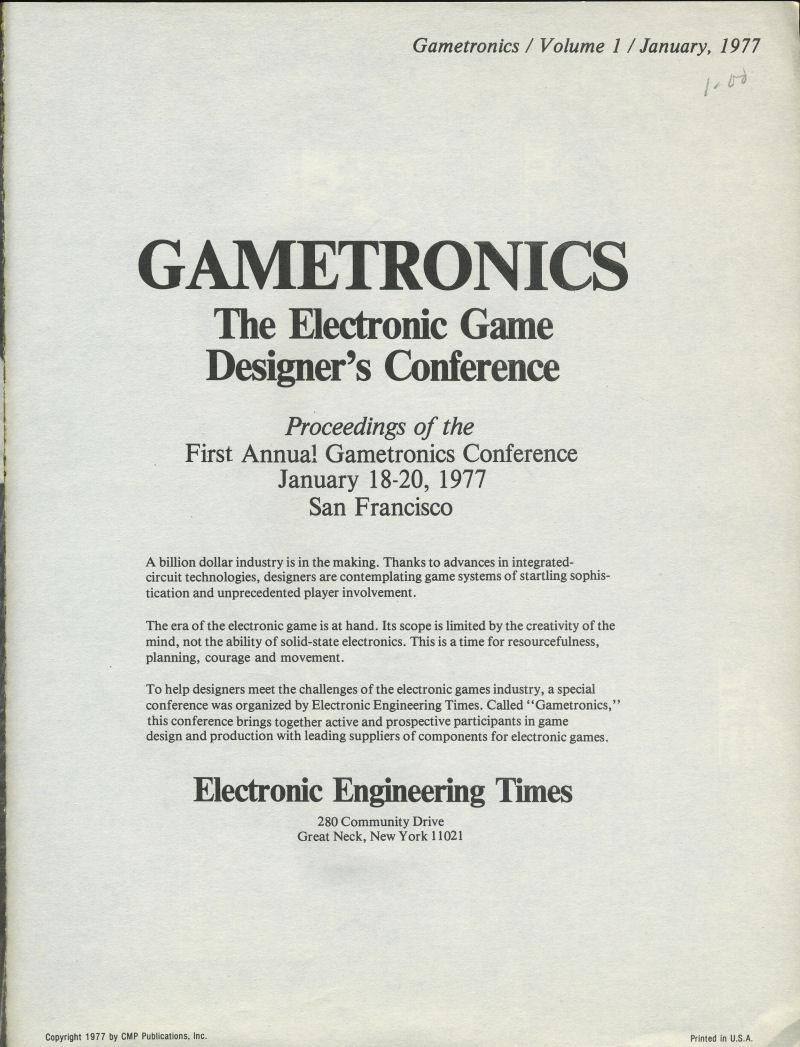 gametronics ppt