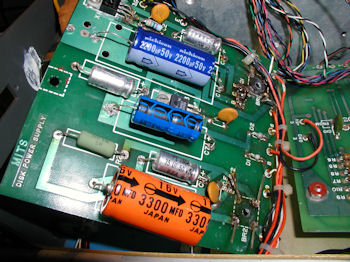 MITS 8in drive power supply board