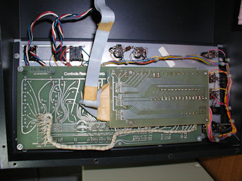 AlphaCom Keyboard underside board view