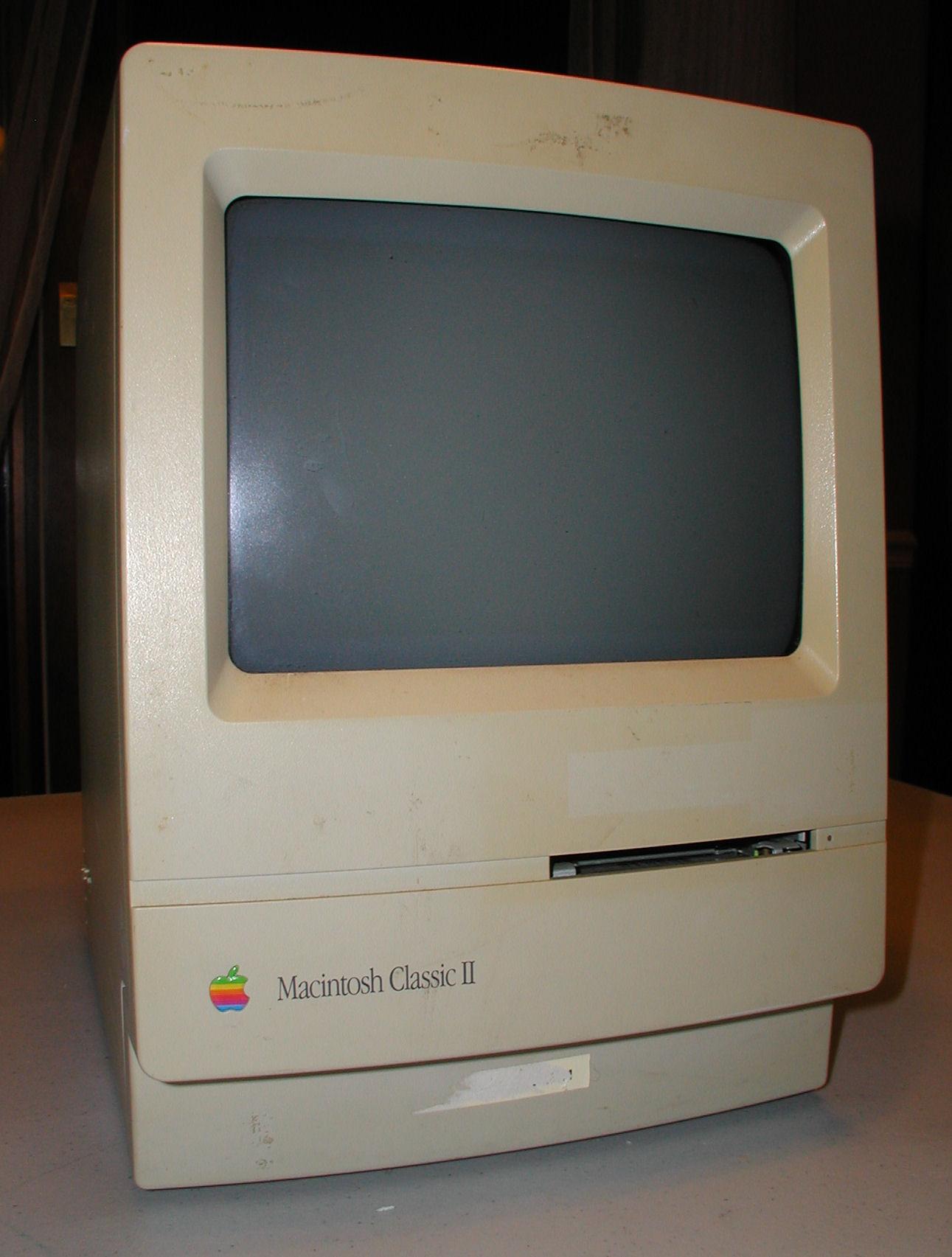 Vintage Computer Photos Subject Apple Macintosh Classic