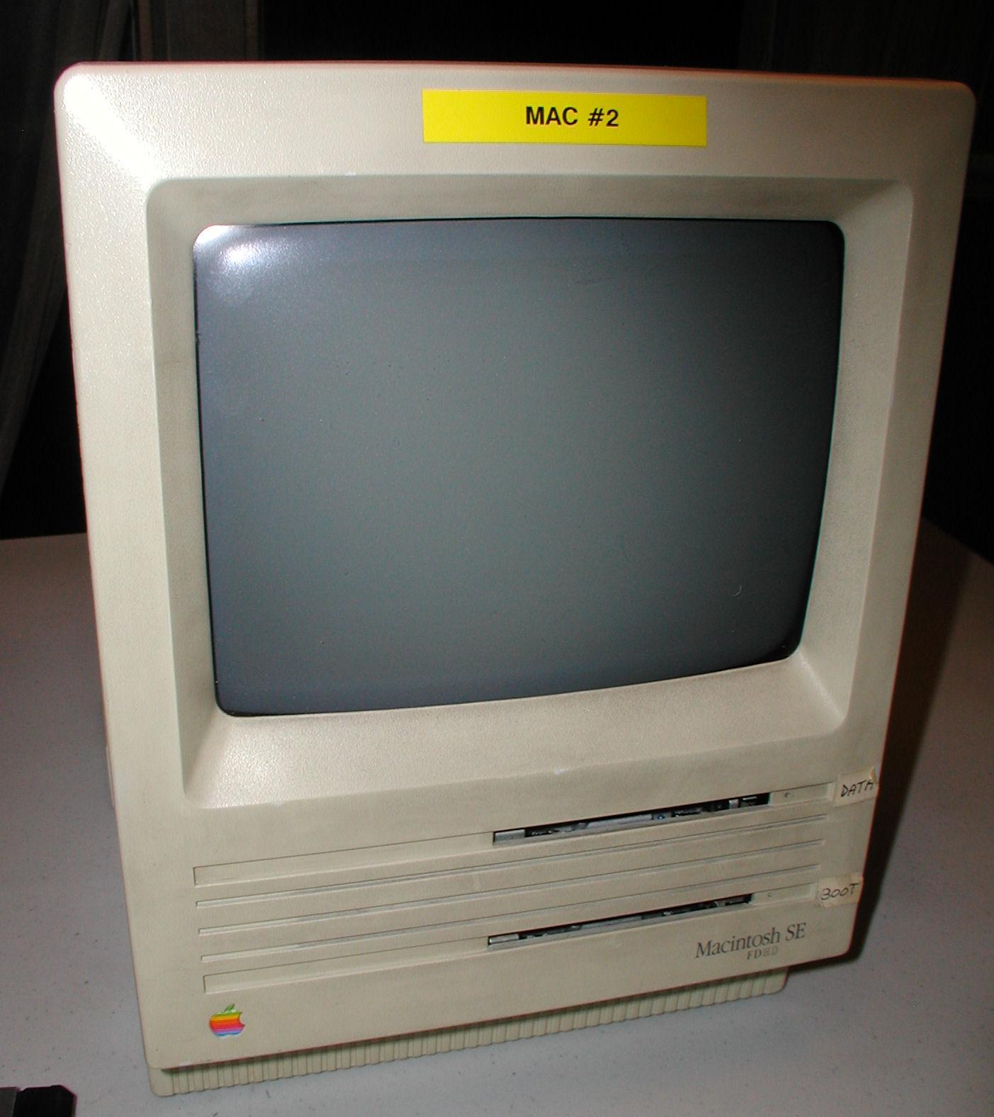 Vintage Computer Photos Subject Apple Macintosh Se Fdhd