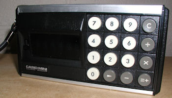 1972 CASIO-MINI calculator