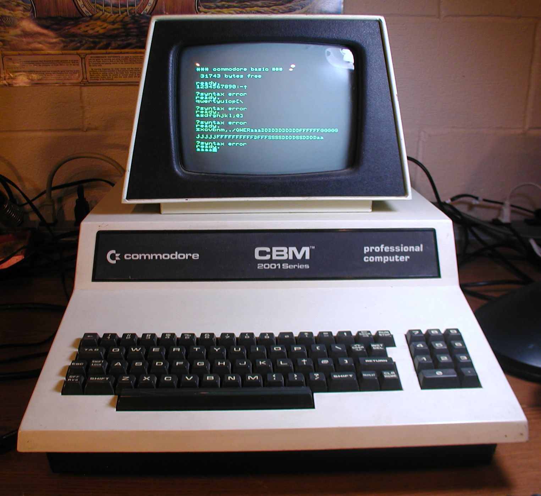 Commodore CBM PET 2001-32B Keyboard