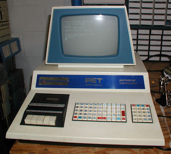 Commodore PET 2001-8 internal cassette read test