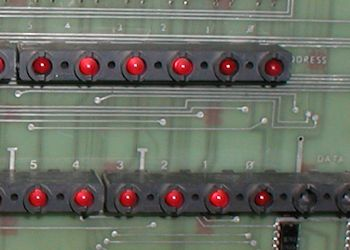 Digital PDP-11/40 industrial/11 dead LED front panel lights