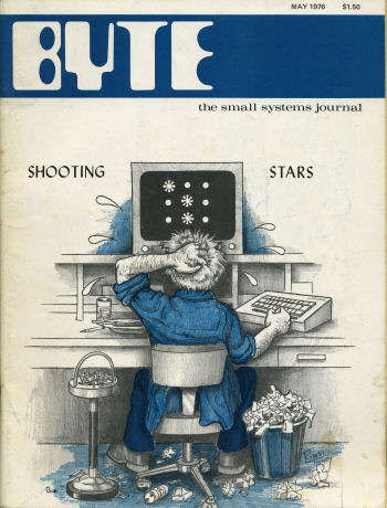 Byte May 1976 Front Cover
