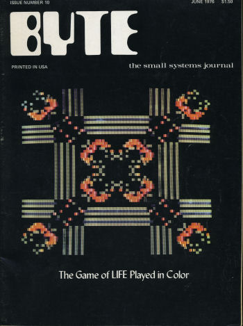 Byte June 1976 Front Cover