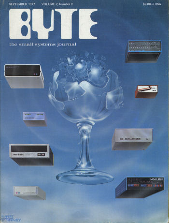 Byte September 1977 Cover