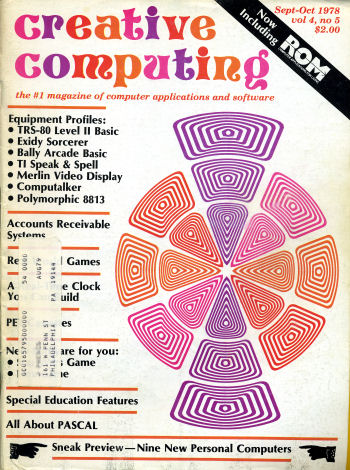 Creative Computing Sept-Oct 1978