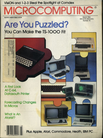 Microcomputing March 1983