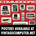 Vintage computers Commodore poster!