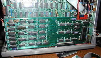 TRS 80 Model III 26-1125 hi-res board