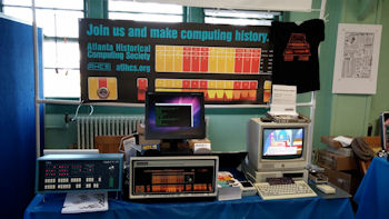 Atlanta Historical Computing Society exhibit at VCF East 2014