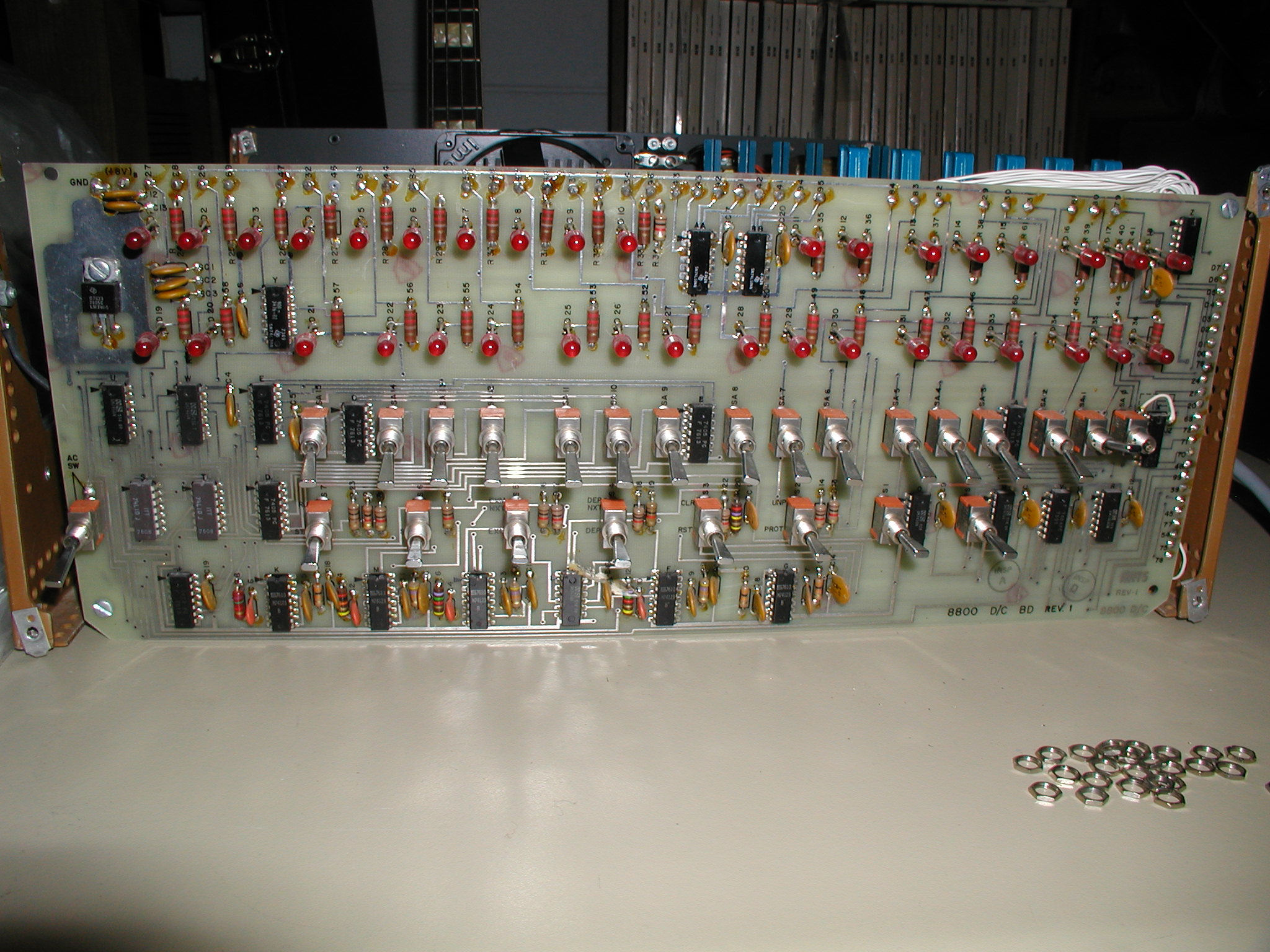 Altair 8800 Front Panel Wiring S100 Diagram Referring To This Photo
