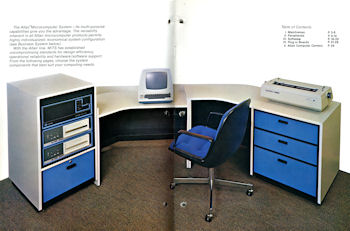 MITS Altair 8800b turnkey system with drives in desk