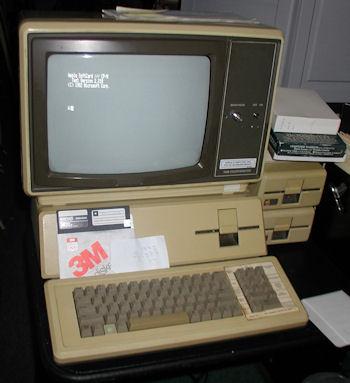 Apple III running CP/M