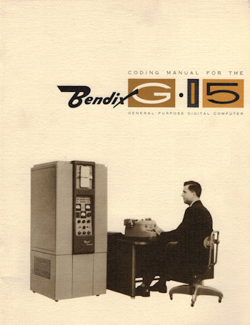 Color cover of the Bendix G-15 Coding Manual