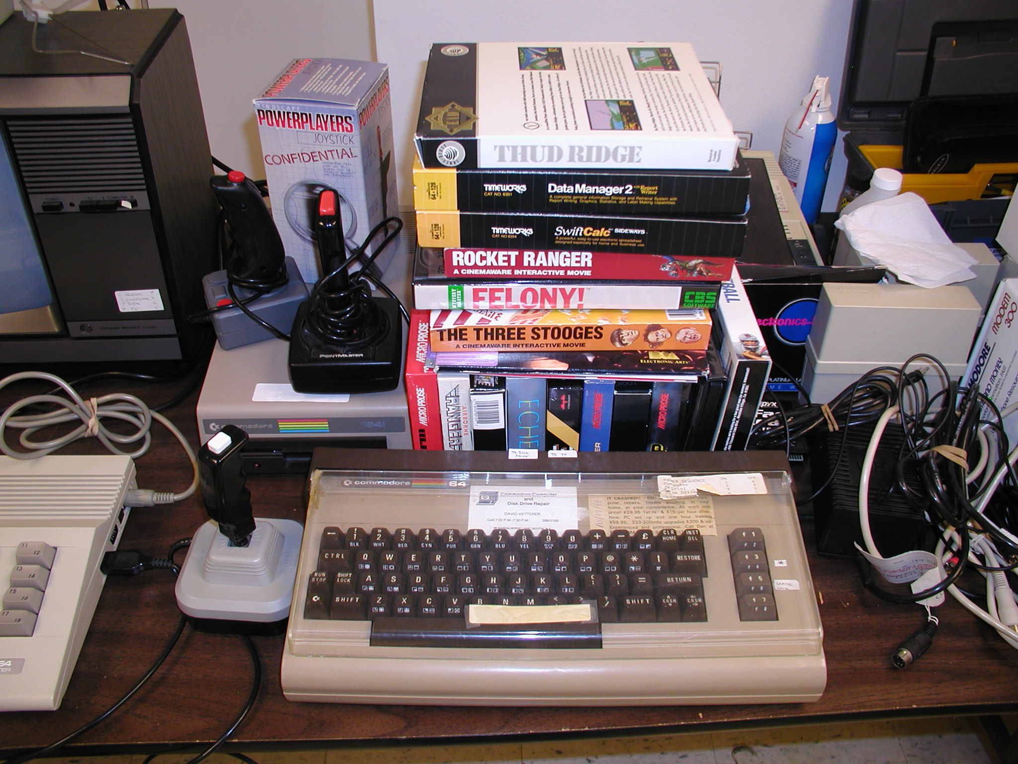 Vintage Computer Photos subject: commodore 64