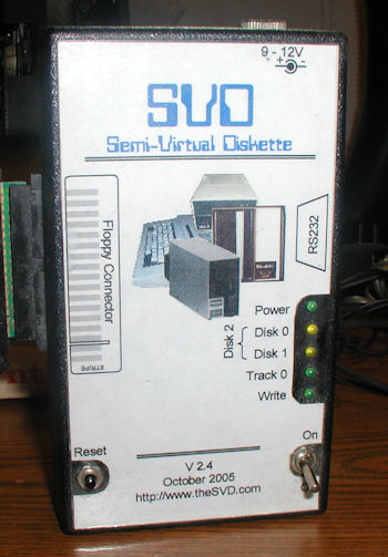 Semi-Virtual Diskette (SVD)