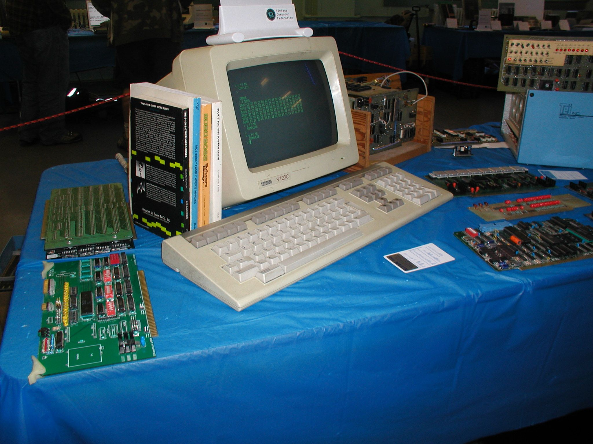 Vintage Computer Photos subject: vcf11 - vintagecomputer net